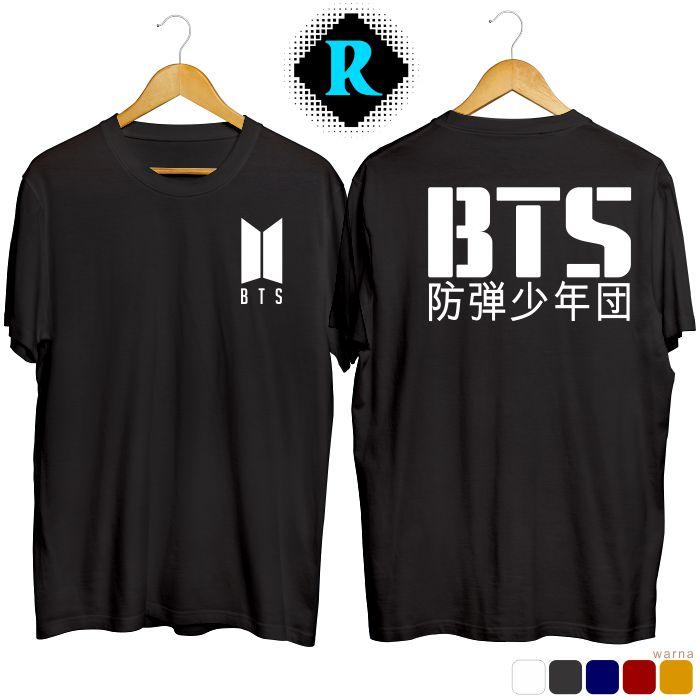 Baju Kaos BTS hitam