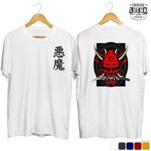 Jual Kaos Distro Keren Devil Red Putih